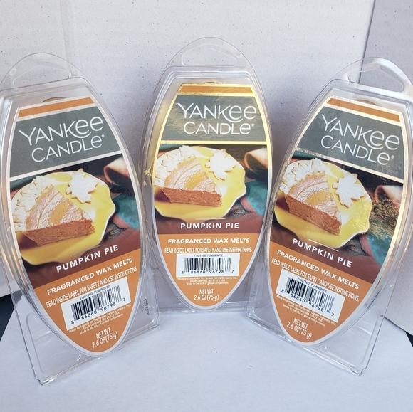 Yankee Candle Pumpkin Pie Wax Melts